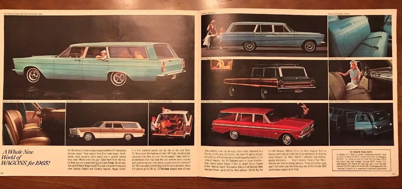 Brochure de vente Ford 1965 (en anglais) 1965_f17