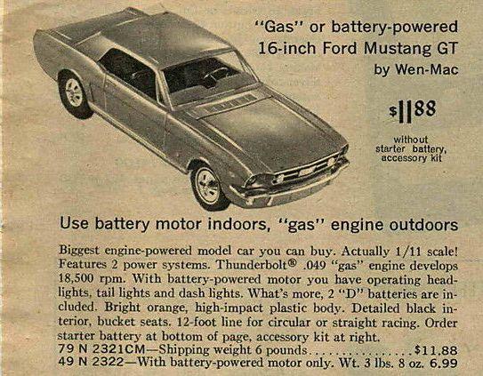 Jouet: Mustang coupe1966 par AMF Wen-Mac 1966_g10