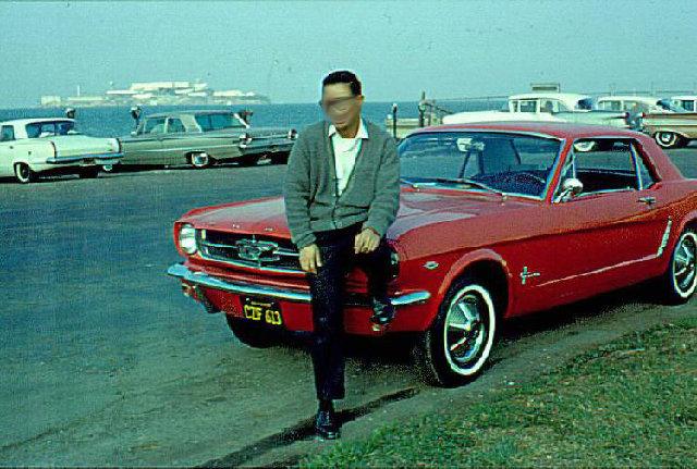 Vieille photo qui inclus des Mustang 65-73  - Page 6 65must10