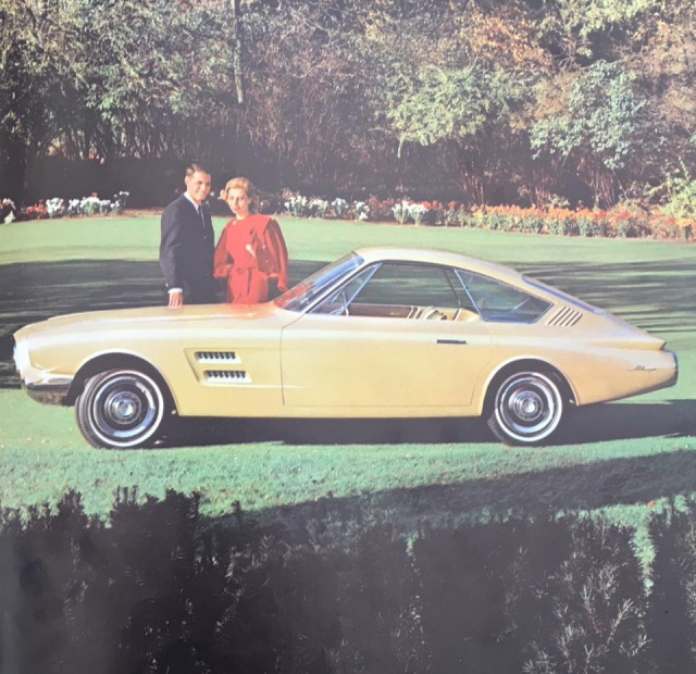 Pamphlet Styling-Cars: Experimental designs: Allegro-Cougar II-Mustang II Alegro10