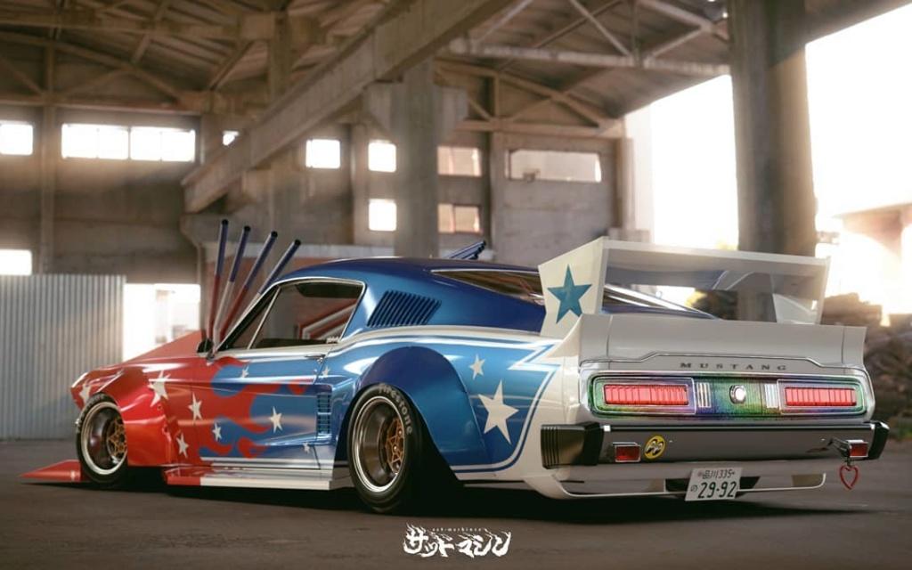 Mustang 1967. Le gagnant catégorie HORREUR ! Bosozo10
