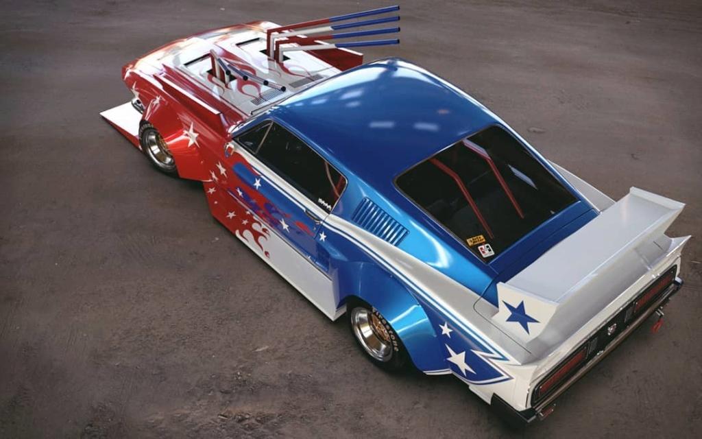 Mustang 1967. Le gagnant catégorie HORREUR ! Bosozo11