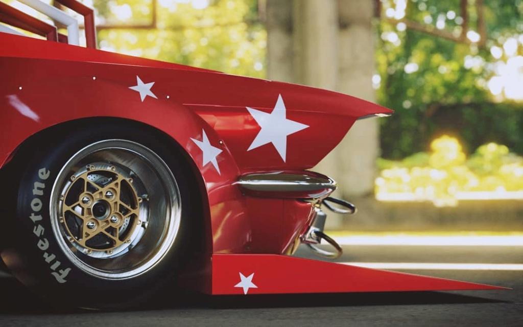 Mustang 1967. Le gagnant catégorie HORREUR ! Bosozo13