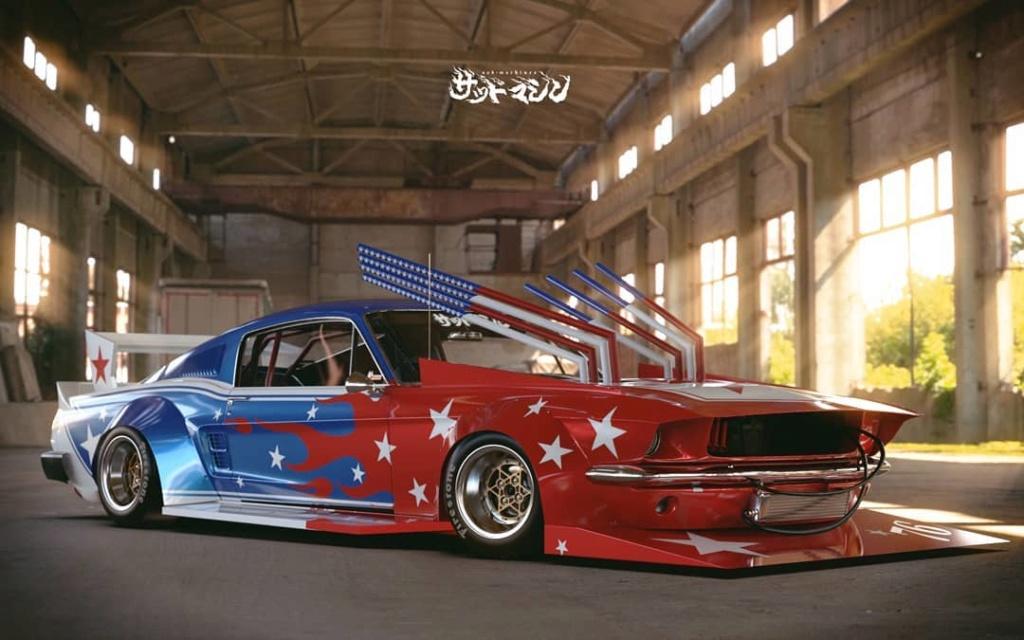Mustang 1967. Le gagnant catégorie HORREUR ! Bosozo15