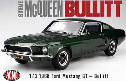 Mustang 1968 échelle 1:12 Bullit41