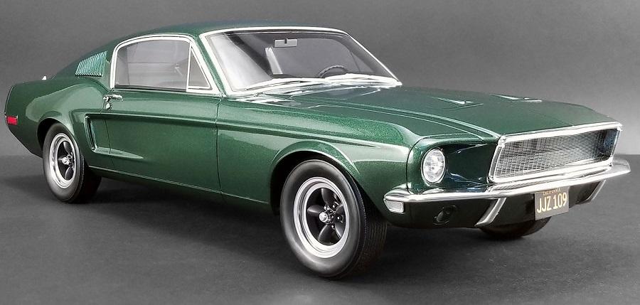 Mustang 1968 échelle 1:12 Bullit42