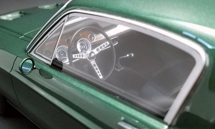 Mustang 1968 échelle 1:12 Bullit43
