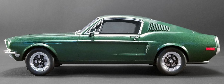 Mustang 1968 échelle 1:12 Bullit45