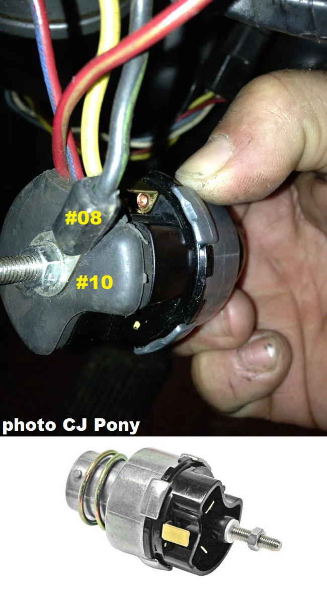 Mustang 1966: Sa se branche ou ? réponse à cette question ! Diagramme électrique  Cj_pon15