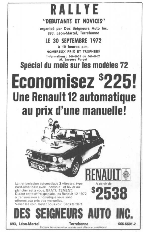 Des Seigneurs Auto inc. Des_se11
