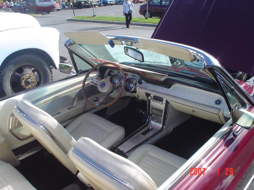 La Mustang 1967 du membre Renald Remillard Dsc00113