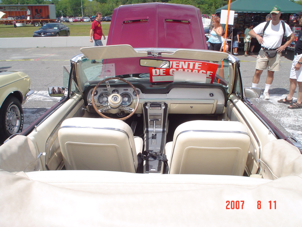 La Mustang 1967 du membre Renald Remillard Dsc00311