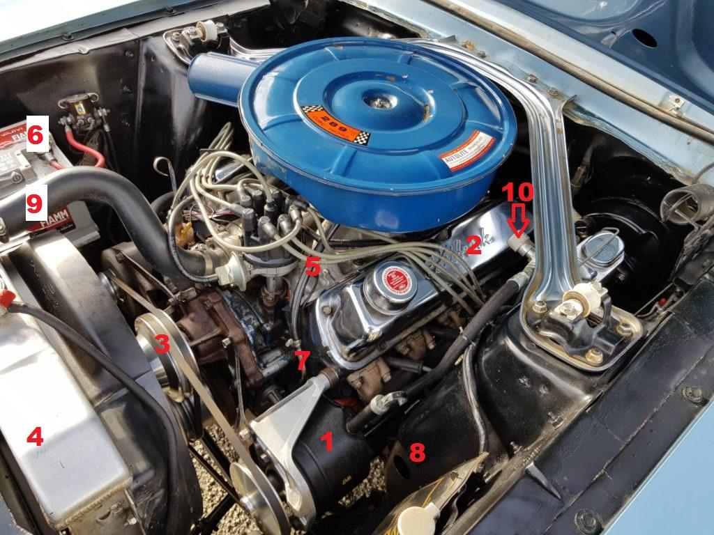 Mon convertible 67, 289ci Franci10