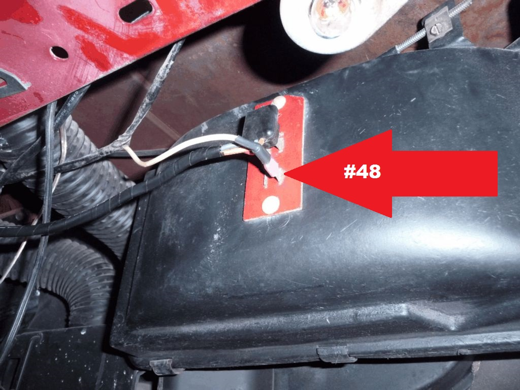 Mustang 1966: Sa se branche ou ? réponse à cette question ! Diagramme électrique  Heater10