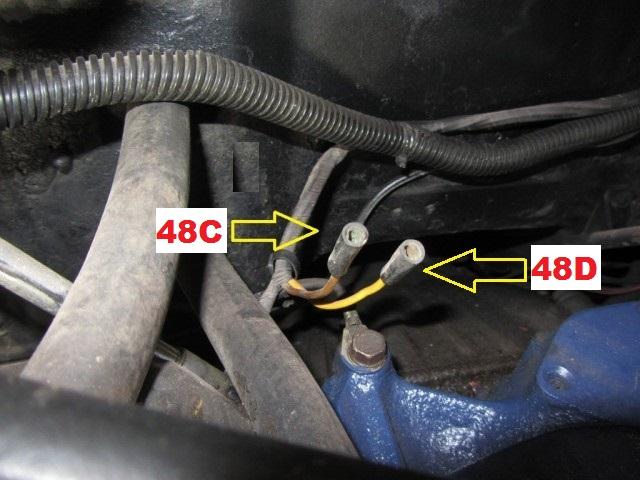 Mustang 1966: Sa se branche ou ? réponse à cette question ! Diagramme électrique  Heater17