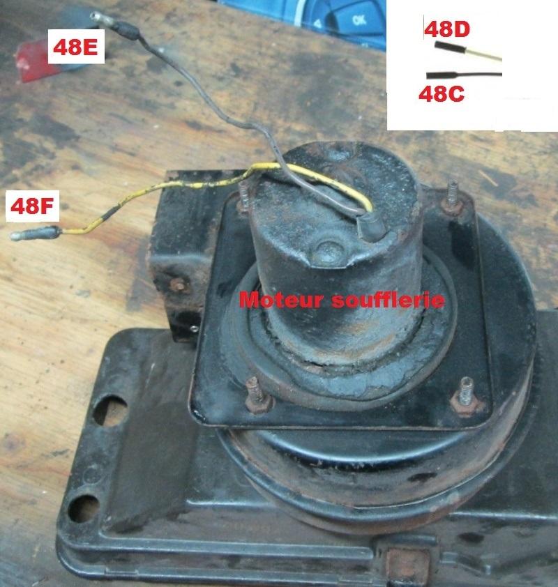 Mustang 1966: Sa se branche ou ? réponse à cette question ! Diagramme électrique  Heater18
