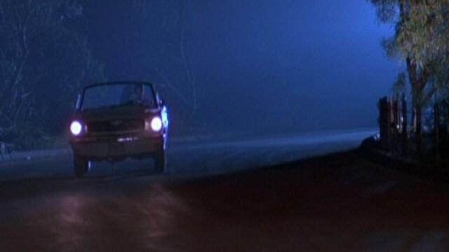 """Mustang 1966 dans le film """"Joe Friday (1987)""""  Image244"""