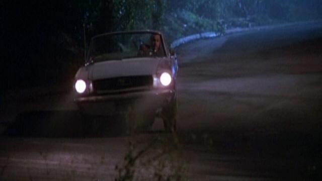 """Mustang 1966 dans le film """"Joe Friday (1987)""""  Image251"""