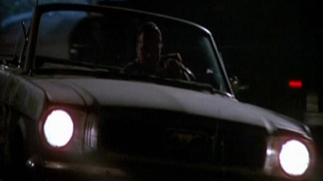 """Mustang 1966 dans le film """"Joe Friday (1987)""""  Image252"""