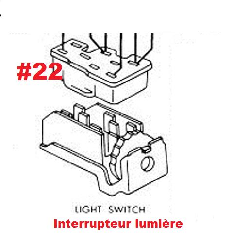 Mustang 1966: Sa se branche ou ? réponse à cette question ! Diagramme électrique  Light_10