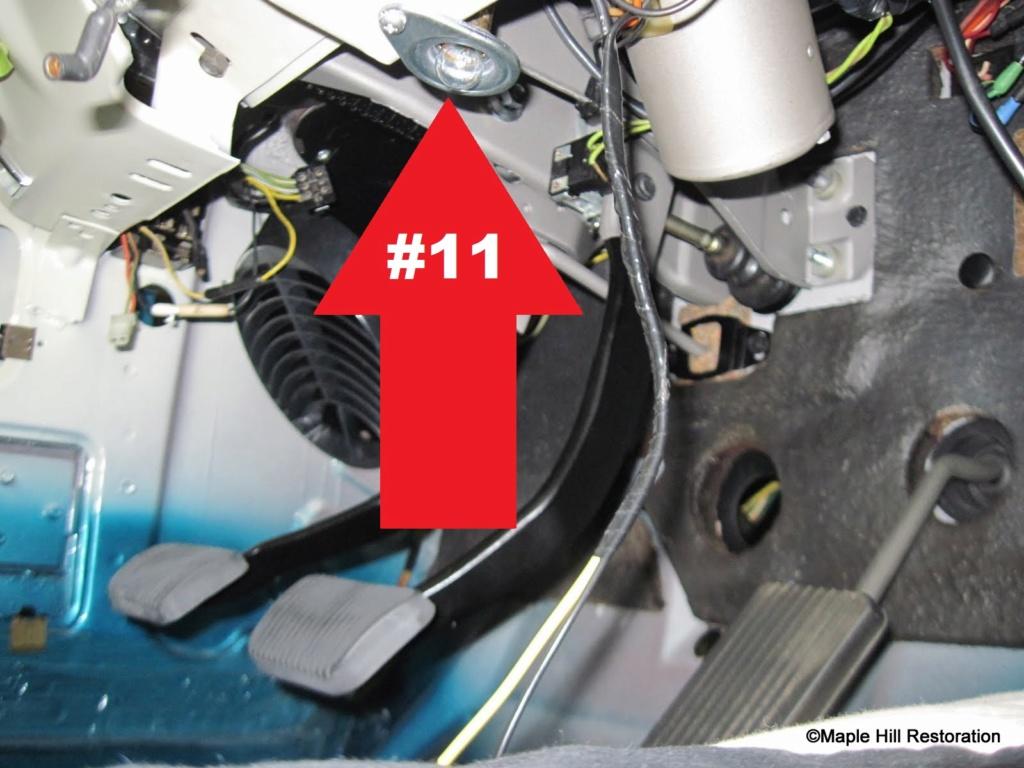 Mustang 1966: Sa se branche ou ? réponse à cette question ! Diagramme électrique  Lumier10