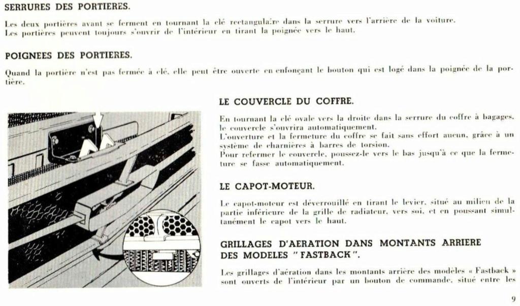 Mustang 1966 : Manuel d'entretien en français, édition de France Nouve201