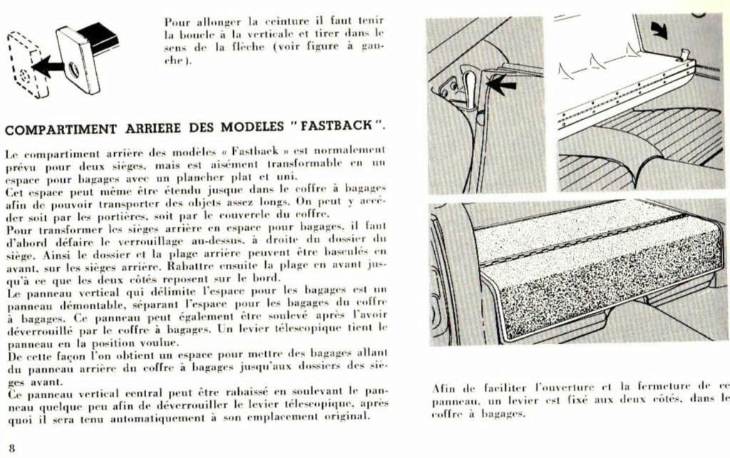 Mustang 1966 : Manuel d'entretien en français, édition de France Nouve203