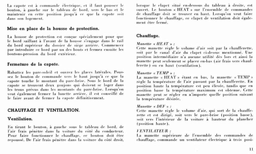 Mustang 1966 : Manuel d'entretien en français, édition de France Nouve204