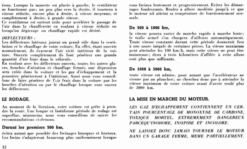 Mustang 1966 : Manuel d'entretien en français, édition de France Nouve206