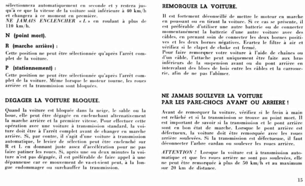 Mustang 1966 : Manuel d'entretien en français, édition de France Nouve207