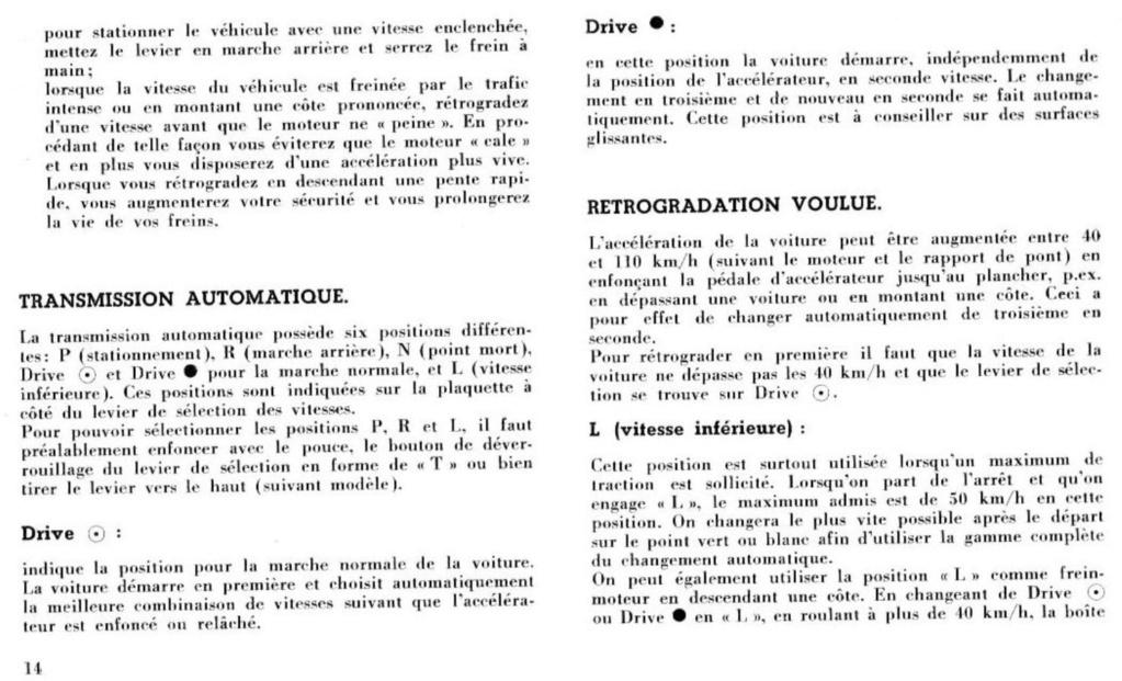 Mustang 1966 : Manuel d'entretien en français, édition de France Nouve208