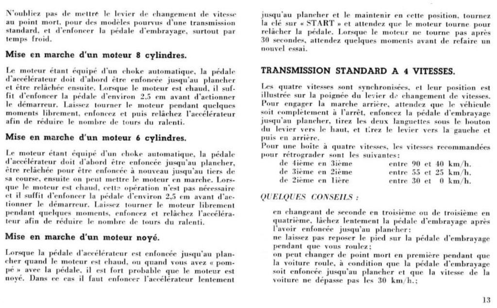 Mustang 1966 : Manuel d'entretien en français, édition de France Nouve209