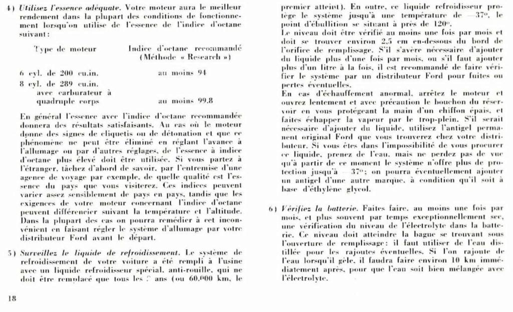 Mustang 1966 : Manuel d'entretien en français, édition de France Nouve212