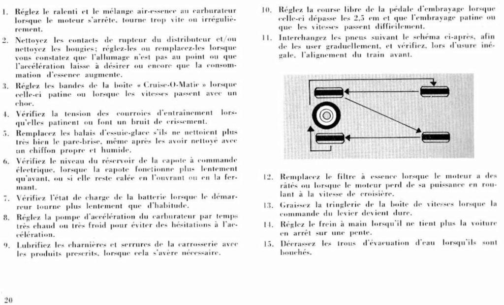 Mustang 1966 : Manuel d'entretien en français, édition de France Nouve215