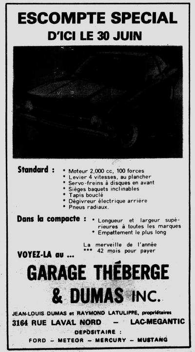 Garage Théberge et Dumas  inc.(Auto Latulippe & Dumas inc.) Thzobe11