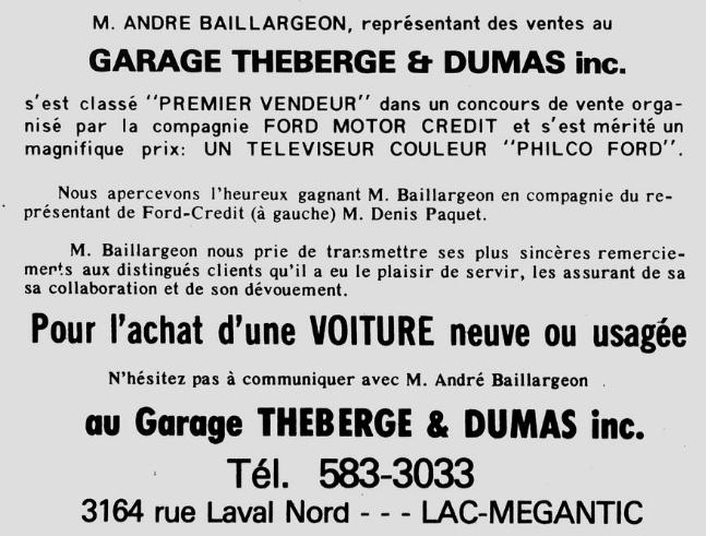 Garage Théberge et Dumas  inc.(Auto Latulippe & Dumas inc.) Thzobe13