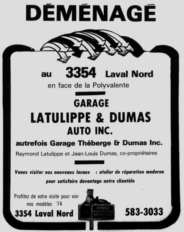 Garage Théberge et Dumas  inc.(Auto Latulippe & Dumas inc.) Thzobe14