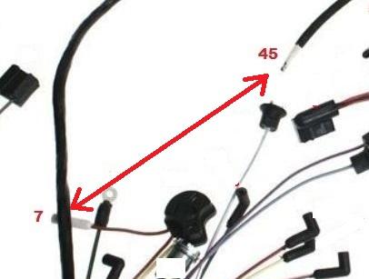 Mustang 1966: Sa se branche ou ? réponse à cette question ! Diagramme électrique  Underd13