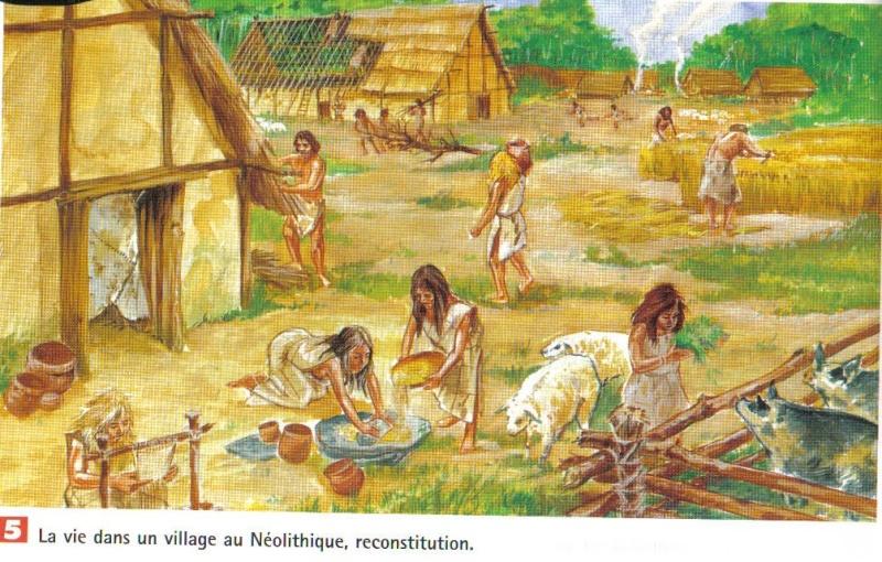 ~~Prehistoria~~ Concepto de Neolítico  Aldea_10
