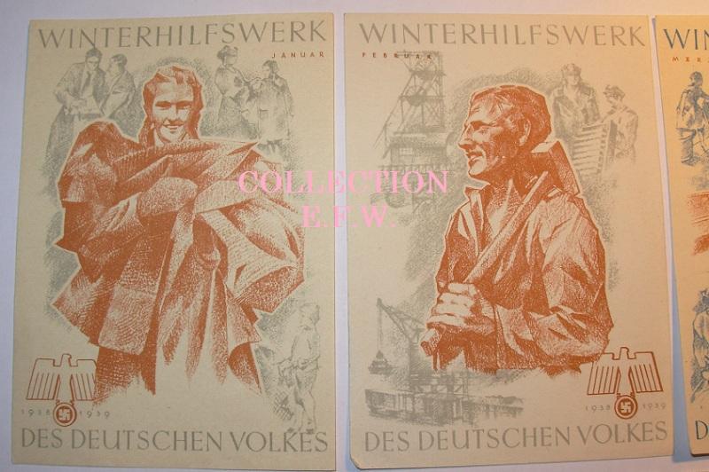 """Collection E.F.W. """" Allemagne prise du pouvoir """" Suite et Fin. 15_whw12"""