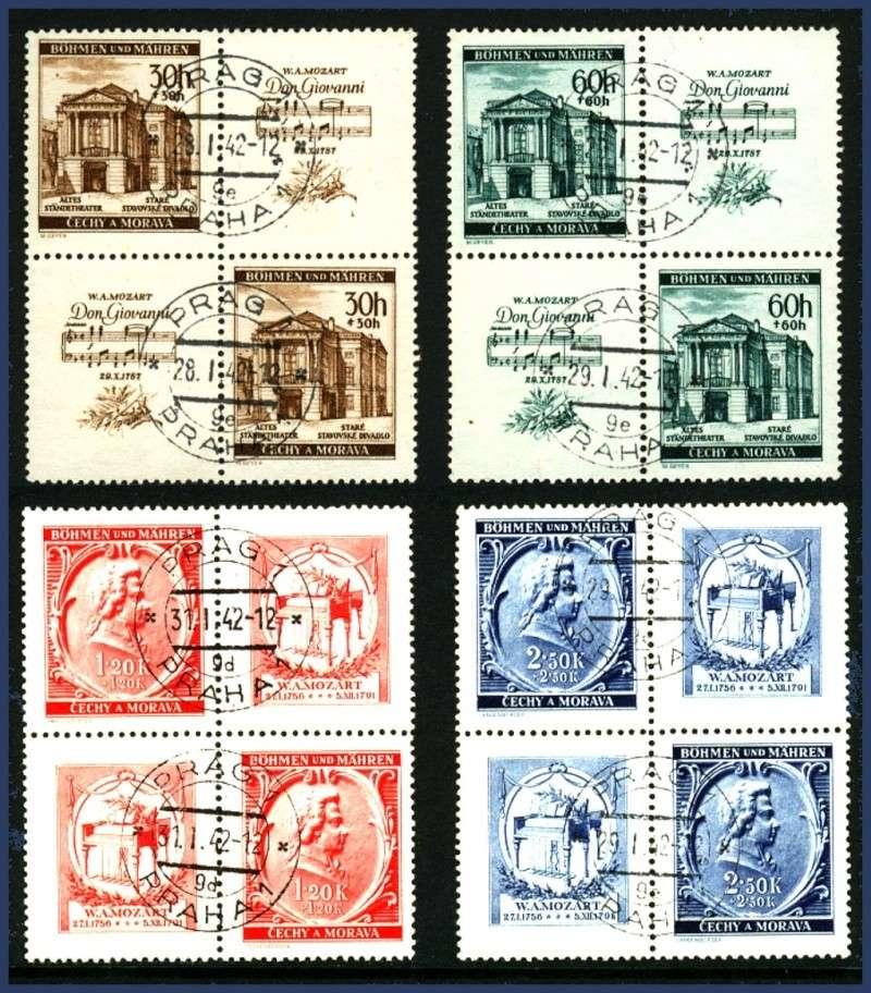 Briefmarken - Briefmarken mit Zierfeldern Allongen (bedruckte Zierfelder) Bahmen16