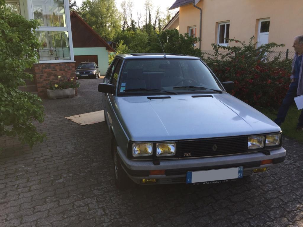 Renault 11 TSE Allemande bleu Baltique 490 Img_3413