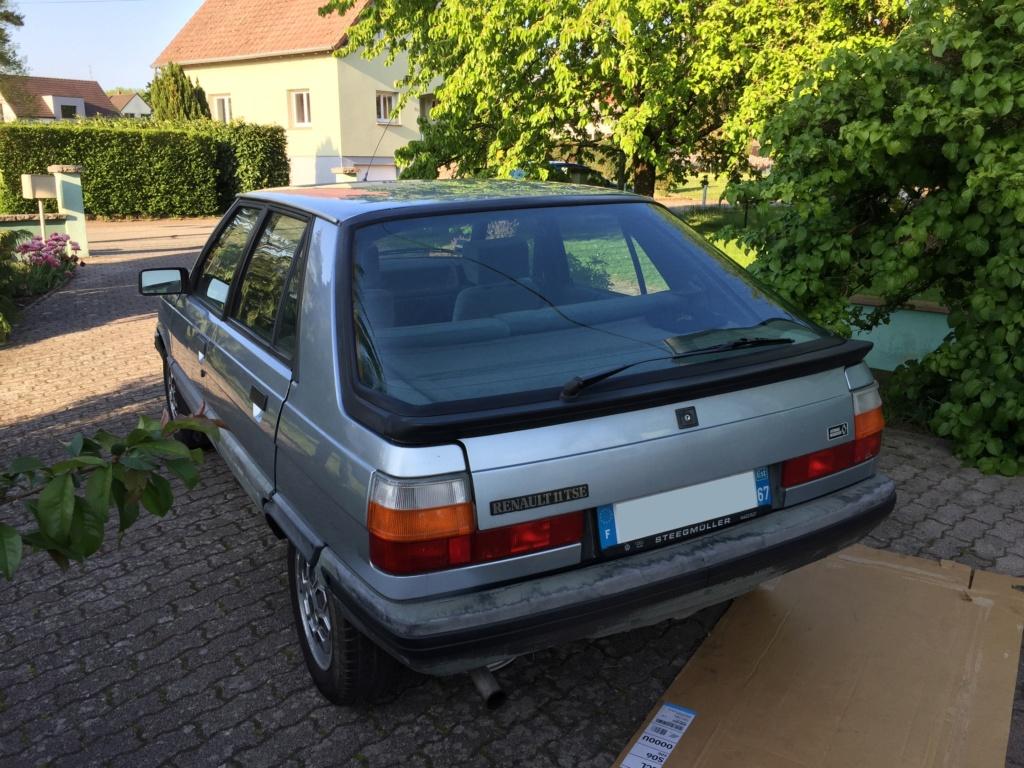Renault 11 TSE Allemande bleu Baltique 490 Img_3415