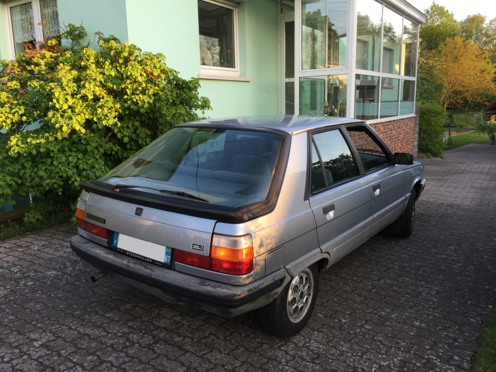 Renault 11 TSE Allemande bleu Baltique 490 Img_3421