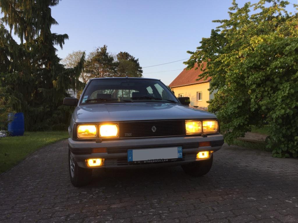 Renault 11 TSE Allemande bleu Baltique 490 Img_3422