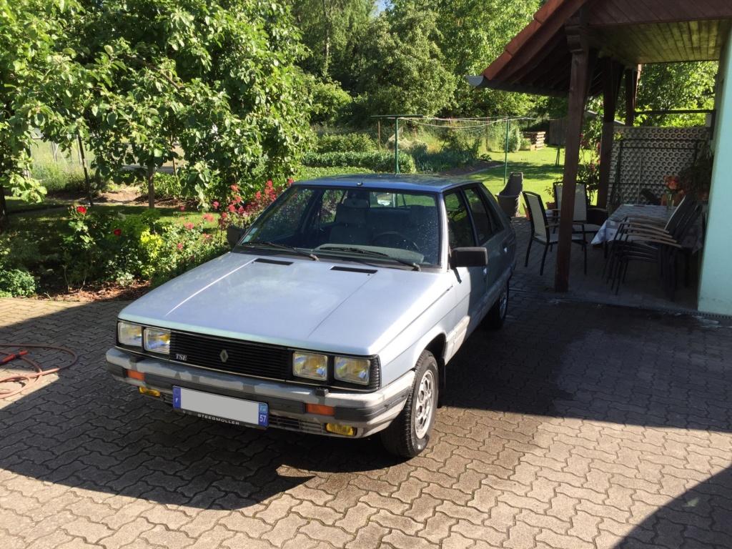Renault 11 TSE Allemande bleu Baltique 490 Img_3710