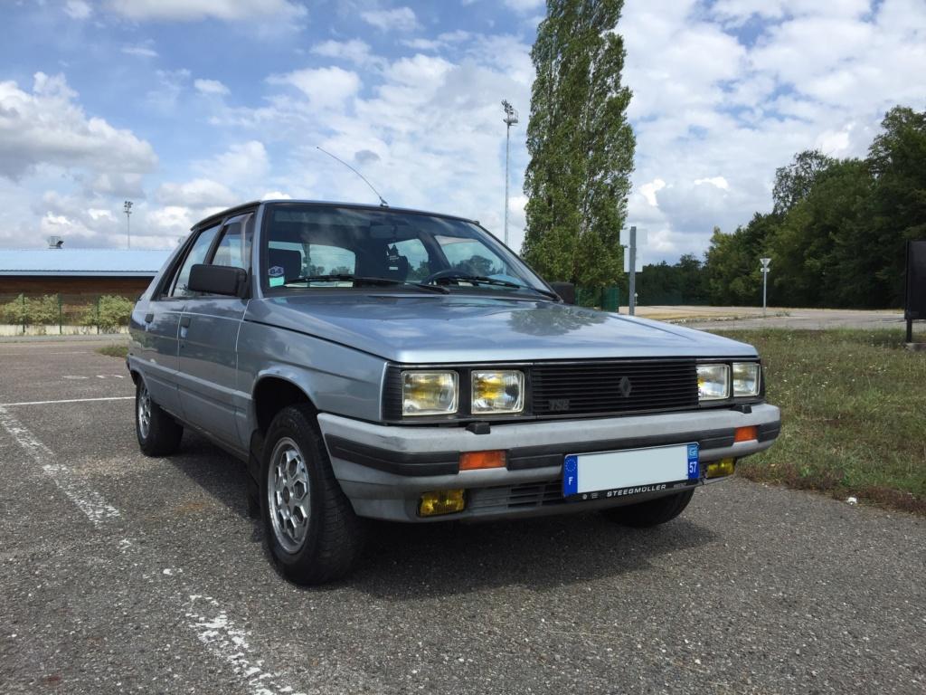 Renault 11 TSE Allemande bleu Baltique 490 Img_4111