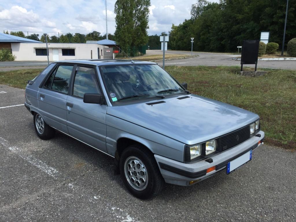 Renault 11 TSE Allemande bleu Baltique 490 Img_4112