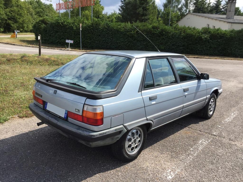 Renault 11 TSE Allemande bleu Baltique 490 Img_4114