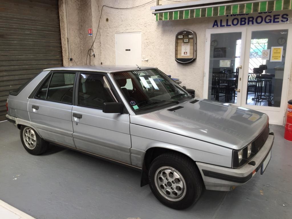 Renault 11 TSE Allemande bleu Baltique 490 Img_4116